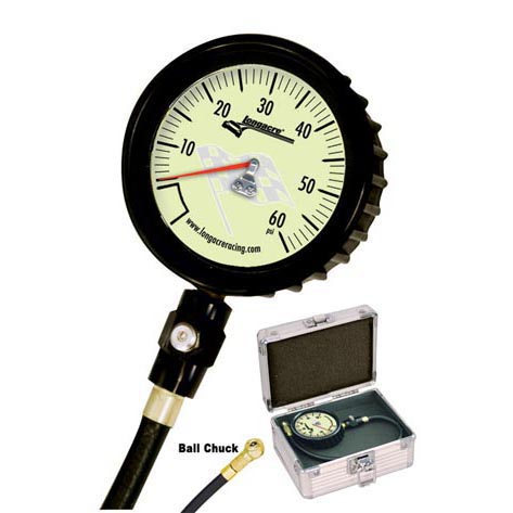 Longacre Magnum™ Tire Gauge 0-60 by 1 lb with Ball Chuck