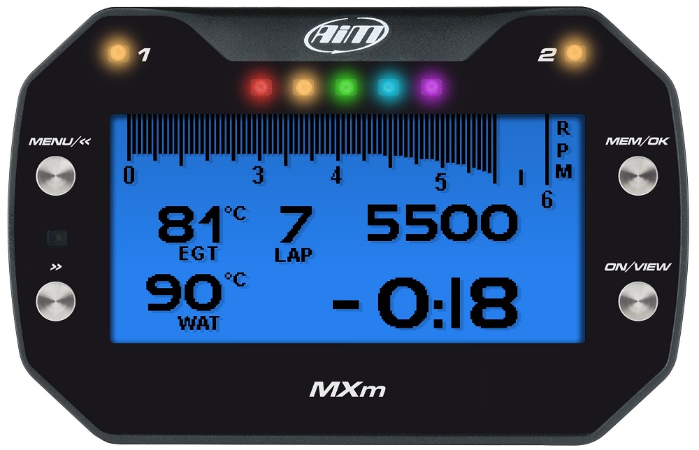 AIM MXm Dash Data Acquisition System