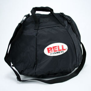 Bell Fleece Lined Helmet Bag - Black