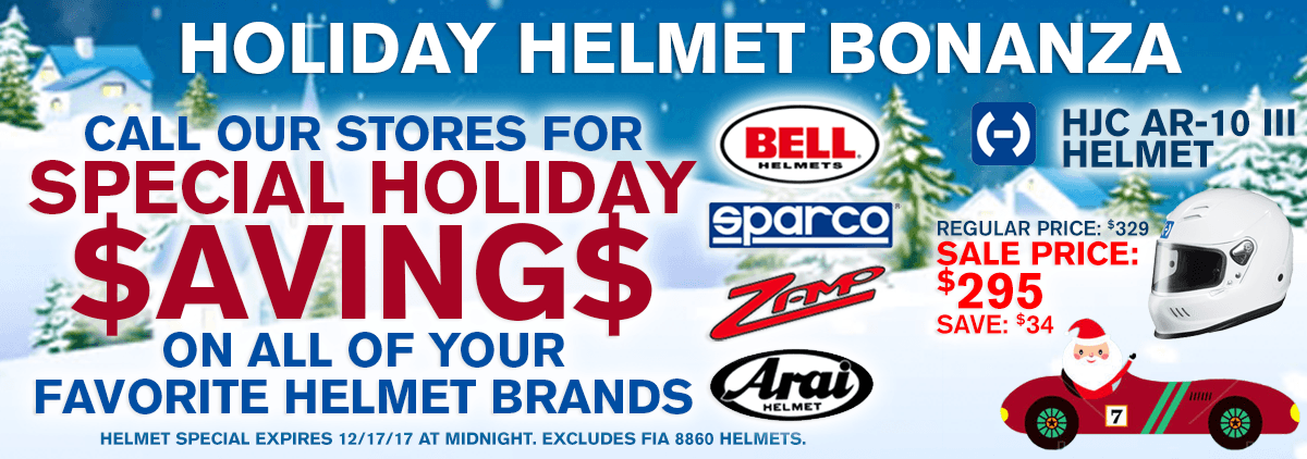0 - Holiday Helmet Bonanza
