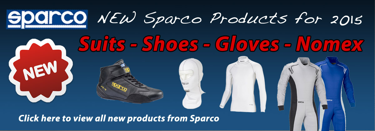 2 - 2015 Sparco New Products