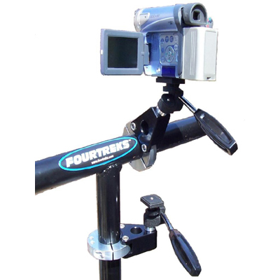 Fourtreks Roll Bar Camcorder Mount