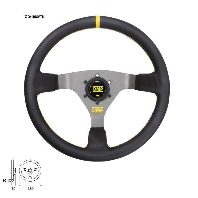 OMP WRC Steering Wheel