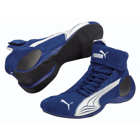 Auto Racing Blue Sports Pedals on Puma Racing Shoes Sparco  Omp  Puma  Aria  Bell  Hjc  Hans